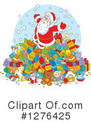 Royalty-Free (RF) Santa Clipart Illustration #1276425