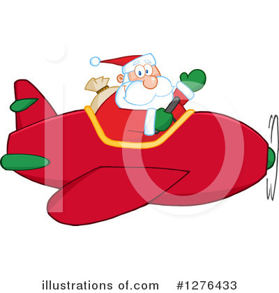 Santa Clipart #1276433 by Hit Toon