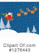 Royalty-Free (RF) Santa Clipart Illustration #1276443
