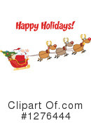 Santa Clipart #1276444 by Hit Toon