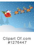 Santa Clipart #1276447 by Hit Toon