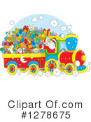 Royalty-Free (RF) Santa Clipart Illustration #1278675