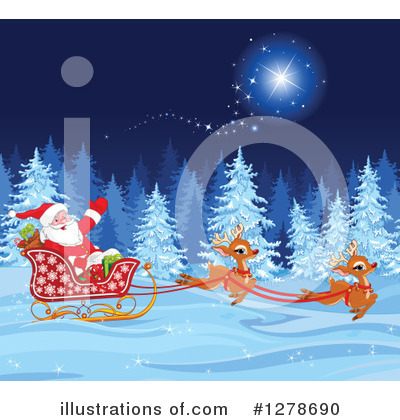 Santa Clipart #1278690 by Pushkin