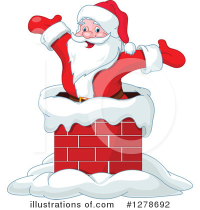 Santa Clipart #1278692 by Pushkin