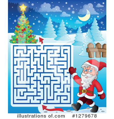 Maze Clipart #1279678 by visekart