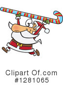 Santa Clipart #1281065 by toonaday