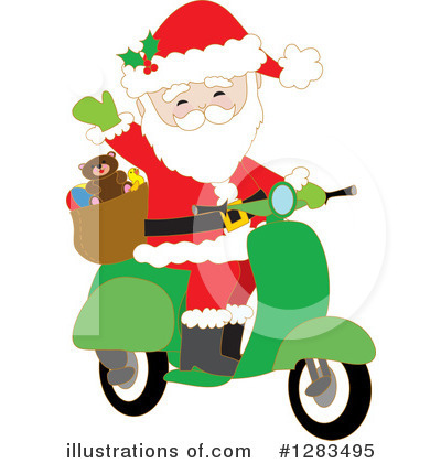 Scooter Clipart #1283495 by Maria Bell