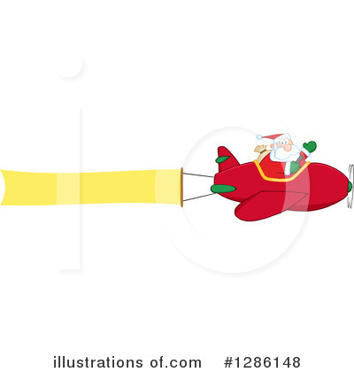 Santa Clipart #1286148 by Hit Toon