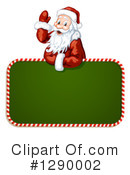Santa Clipart #1290002 by merlinul