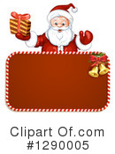 Santa Clipart #1290005 by merlinul