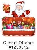 Santa Clipart #1290012 by merlinul