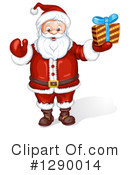 Santa Clipart #1290014 by merlinul