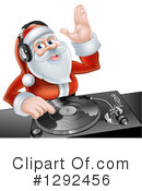Royalty-Free (RF) Santa Clipart Illustration #1292456