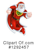Royalty-Free (RF) Santa Clipart Illustration #1292457