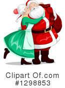 Royalty-Free (RF) Santa Clipart Illustration #1298853