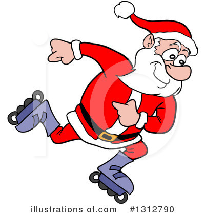 Christmas Clipart #1312790 by LaffToon