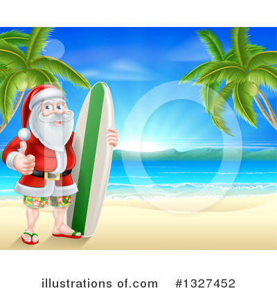 Beach Clipart #1327452 by AtStockIllustration