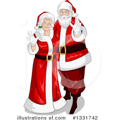 Santa Clipart #1331742 by Liron Peer