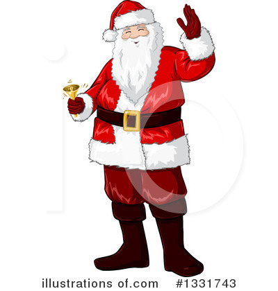 Santa Clipart #1331743 by Liron Peer