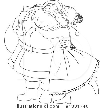 Santa Clipart #1331746 by Liron Peer
