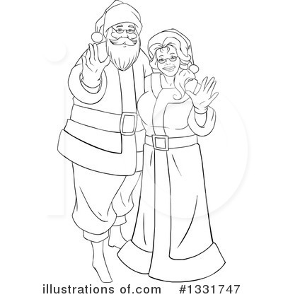 Santa Clipart #1331747 by Liron Peer