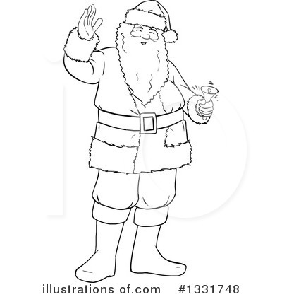 Santa Clipart #1331748 by Liron Peer