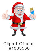 Santa Clipart #1333566 by AtStockIllustration