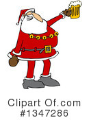Royalty-Free (RF) Santa Clipart Illustration #1347286