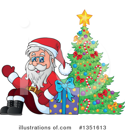 Christmas Gift Clipart #1351613 by visekart