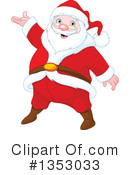 Royalty-Free (RF) Santa Clipart Illustration #1353033