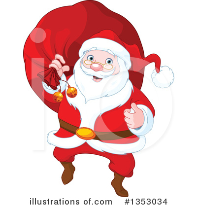 Santa Clipart #1353034 by Pushkin