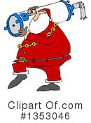 Royalty-Free (RF) Santa Clipart Illustration #1353046