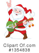 Royalty-Free (RF) Santa Clipart Illustration #1354838
