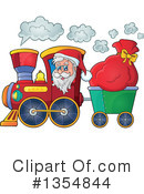 Royalty-Free (RF) Santa Clipart Illustration #1354844