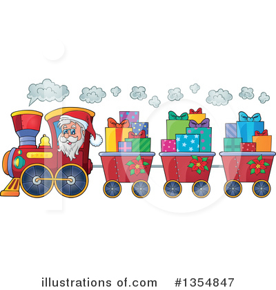 Gift Clipart #1354847 by visekart