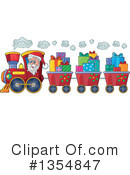 Royalty-Free (RF) Santa Clipart Illustration #1354847