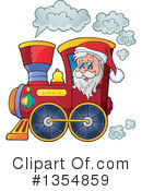 Royalty-Free (RF) Santa Clipart Illustration #1354859