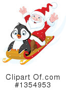 Royalty-Free (RF) Santa Clipart Illustration #1354953