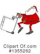 Royalty-Free (RF) Santa Clipart Illustration #1355262
