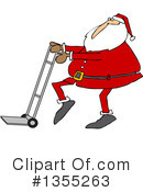 Royalty-Free (RF) Santa Clipart Illustration #1355263