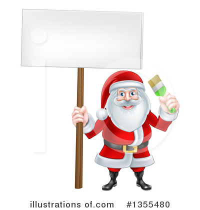 Painter Clipart #1355480 by AtStockIllustration