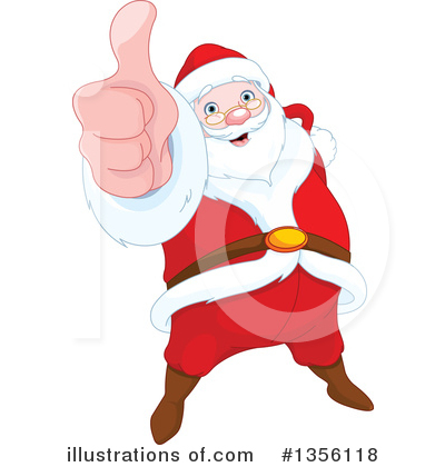Santa Clipart #1356118 by Pushkin