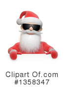 Santa Clipart #1358347 by Mopic
