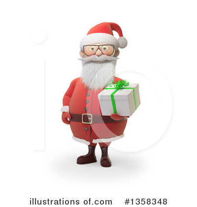 Royalty-Free (RF) Santa Clipart Illustration by Mopic - Stock Sample #1358348