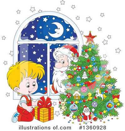 Christmas Clipart #1360928 by Alex Bannykh
