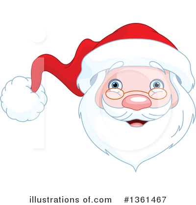 Santa Clipart #1361467 by Pushkin