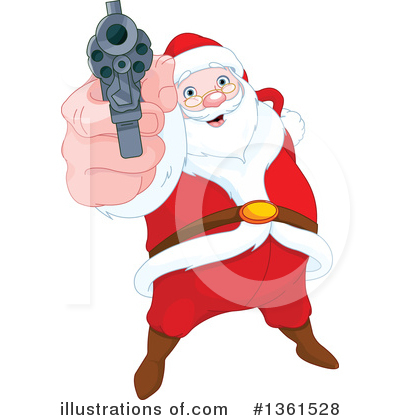 Santa Clipart #1361528 by Pushkin