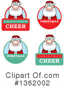 Royalty-Free (RF) Santa Clipart Illustration #1362002
