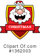 Santa Clipart #1362003 by Cory Thoman