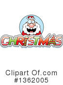 Royalty-Free (RF) Santa Clipart Illustration #1362005